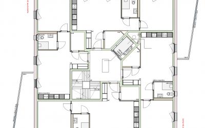 Immeuble de 18 appartements adaptés – Saint-Blaise